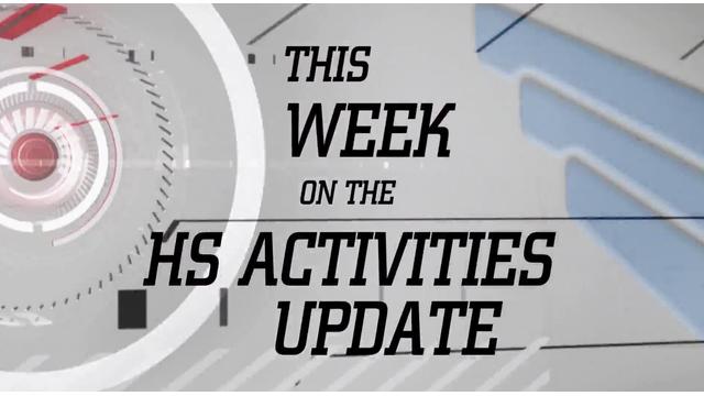 Activity update graphic