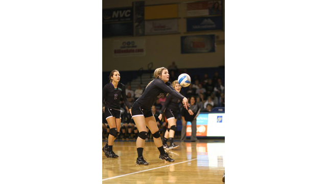 High School volleyball players
