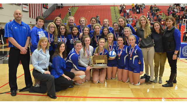 The 2014 State Volleyball Champion O'Gorman Knights