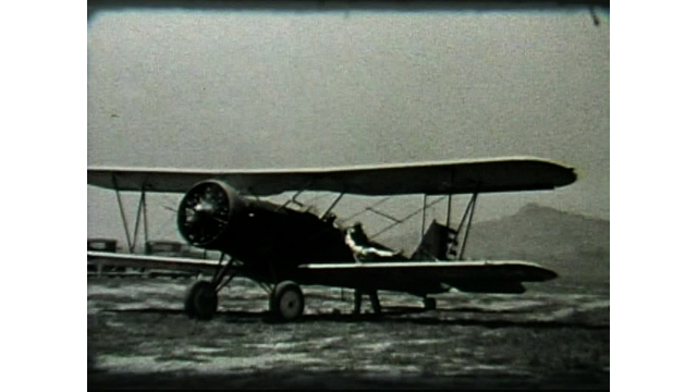 Plane in the 1930's