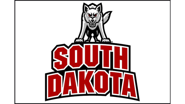 Logo of the University of South Dakota Coyotes
