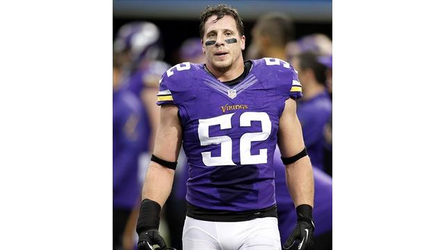 Minnesota Vikings Linebacker Chad Greenway