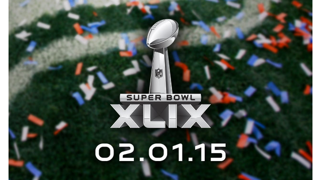 Super Bowl XLIX graphic