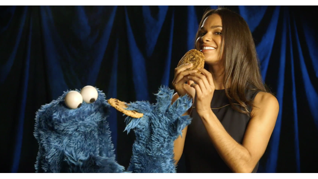 Misty Copeland & Cookie Monster