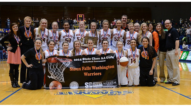 Sioux Falls Washington girls basketball