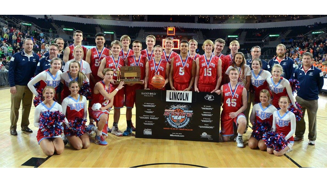 2015 Boys Basketball Champions, the Lincoln Patriots