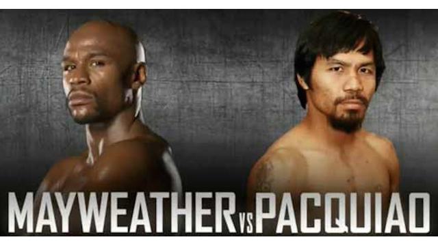 Mayweather vs. Pacquiao graphic
