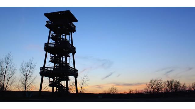Joseph N. Nicollet Tower, Sisseton SD
