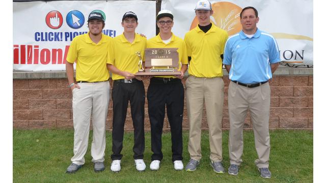 Boys golf champions