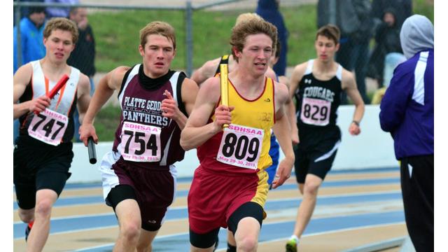 high school boys runners