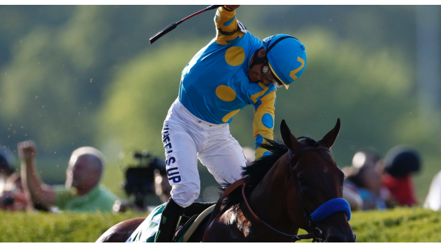 Photo of a horse jockey