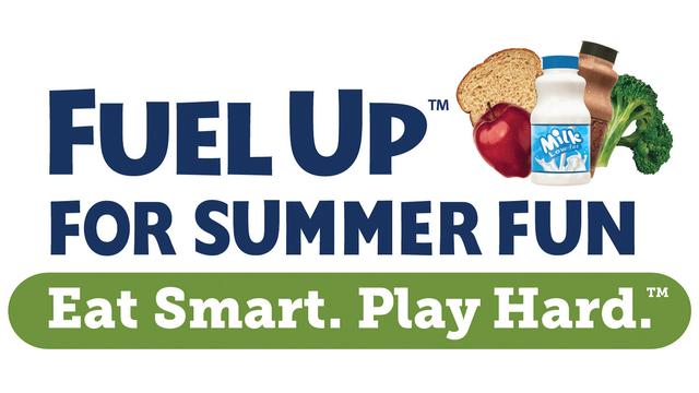 fuel up fpr summer fun. Eat Smart. Play hard.