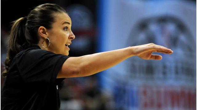 San Antonio Spurs Summer League Head Coach Becky Hammon