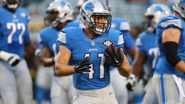 Photo of Lion's Zach Zenner