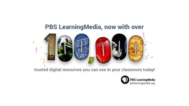 PBS LearningMedia Now Offers 100,000 Digital Resources in its Library for Educators