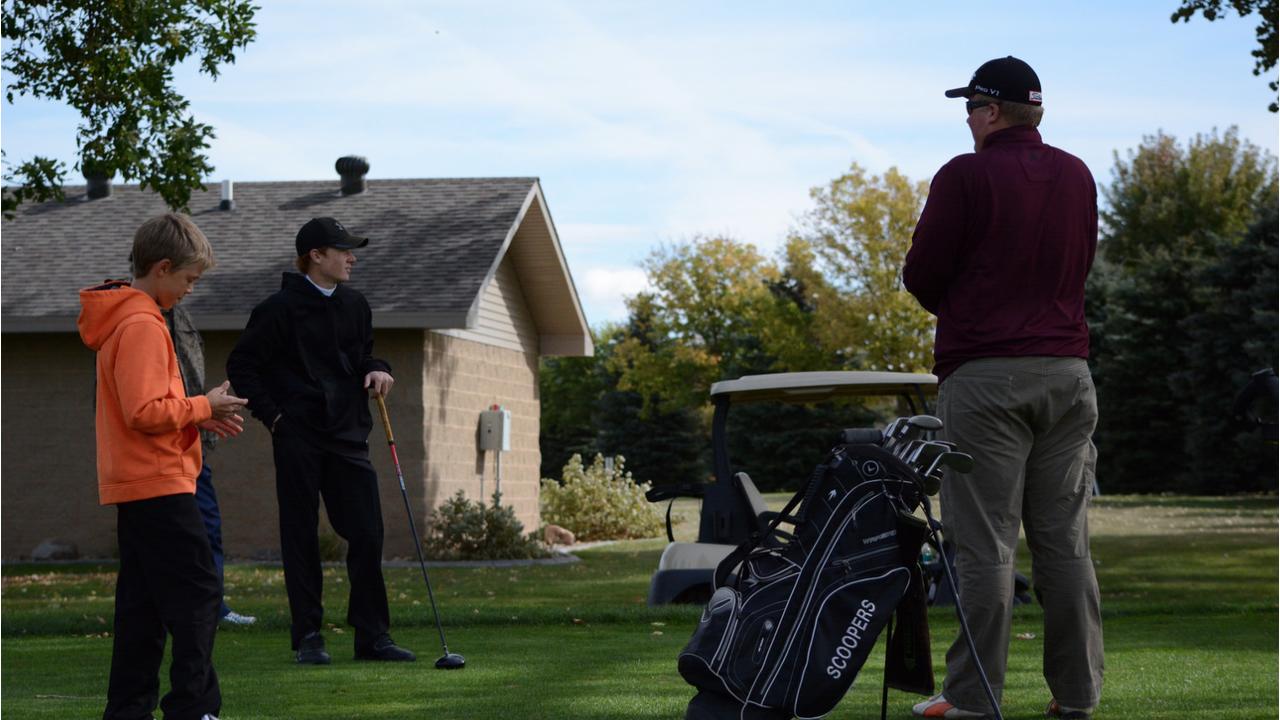 Boys golfers