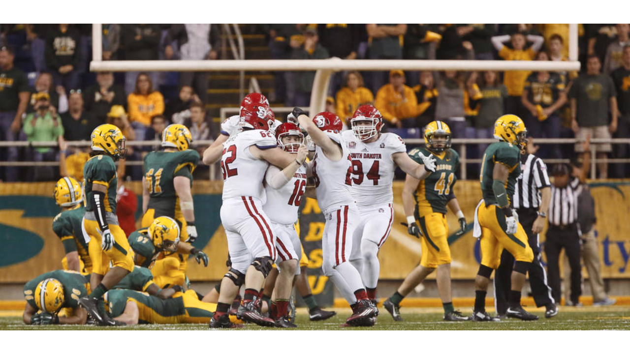 Photo from USD and NDSU game