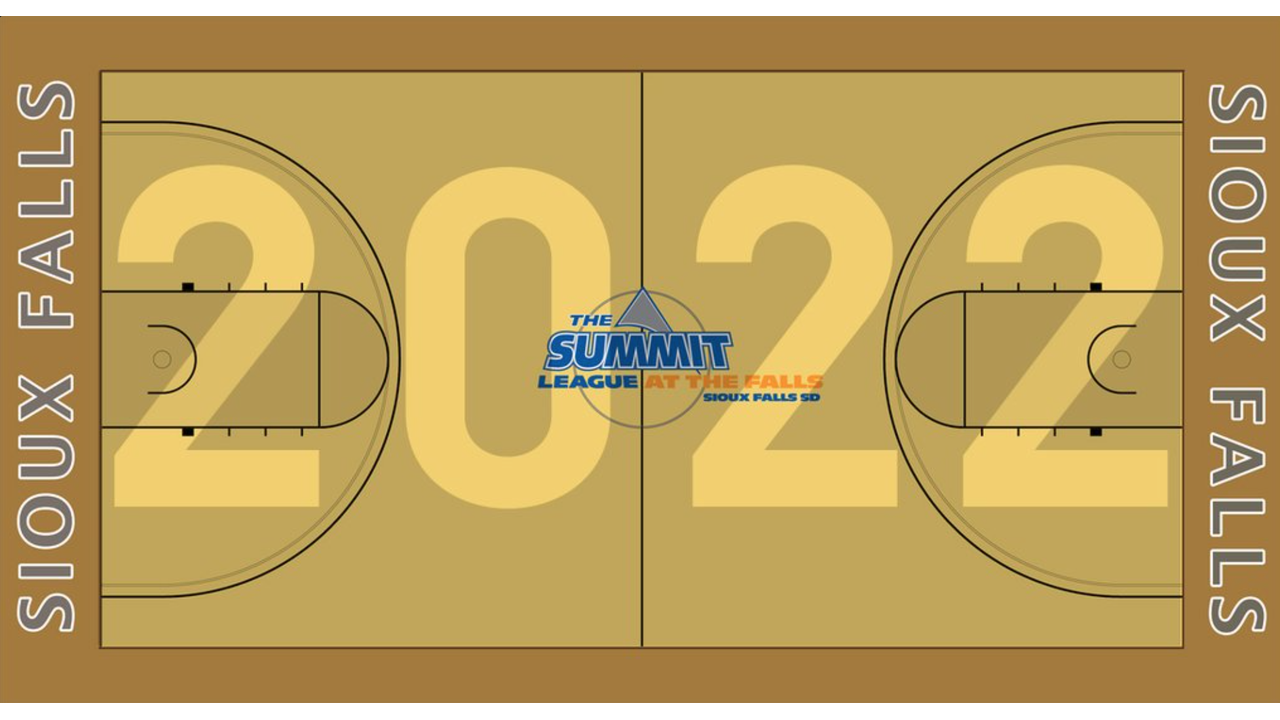 Sioux Falls summit league graphic