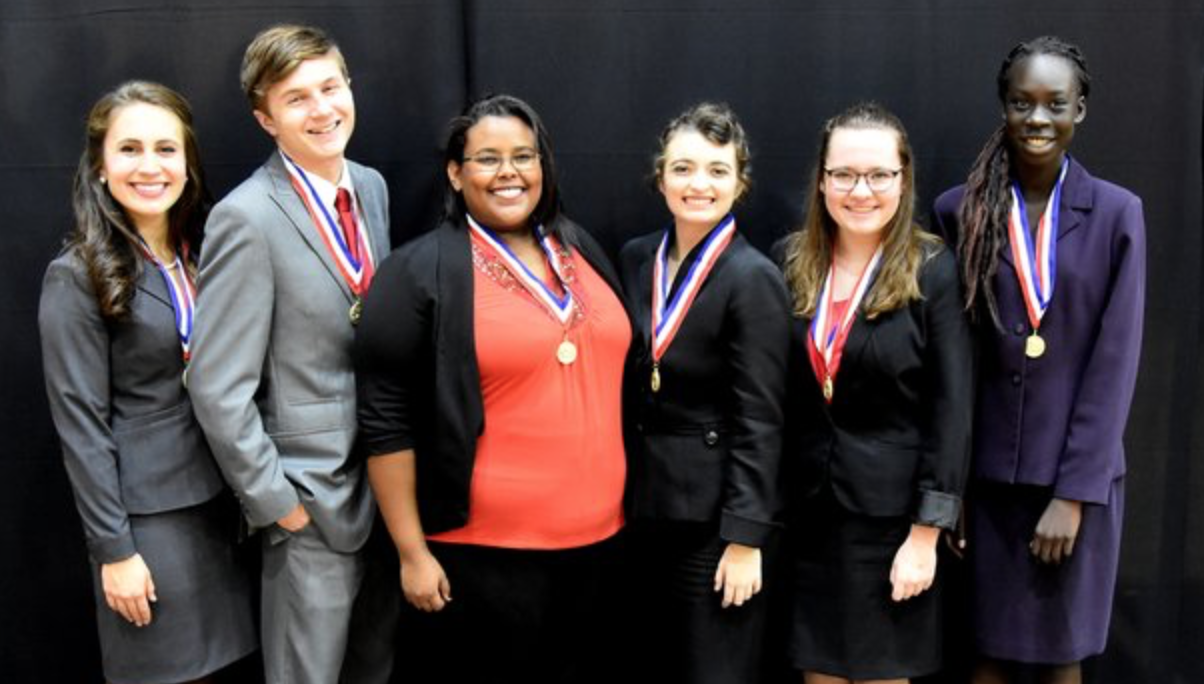 Oral Interpretation medalists