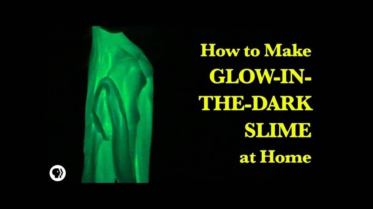 How to make glow-in-the-dark slime at home