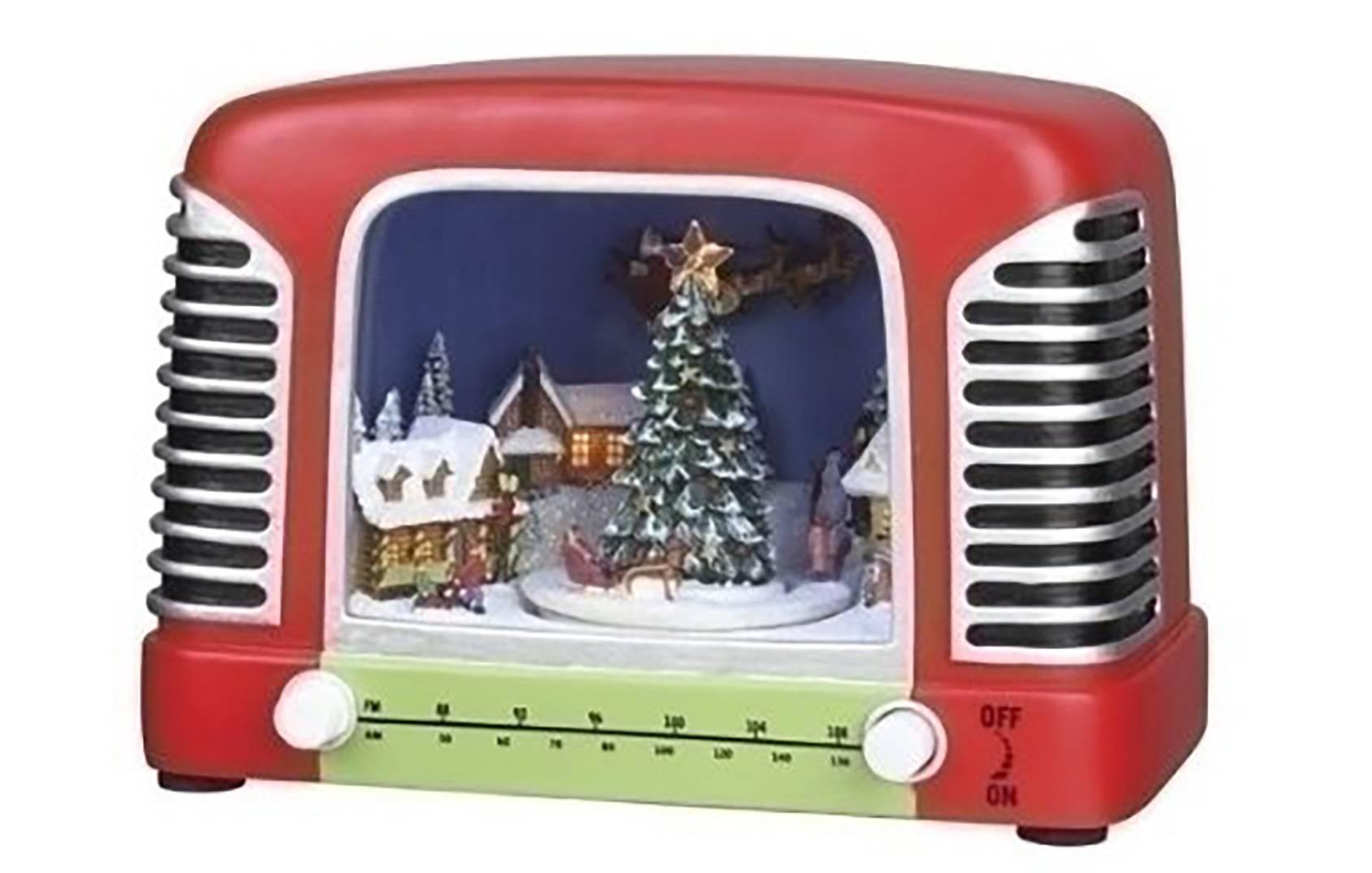 Christmas themed radio