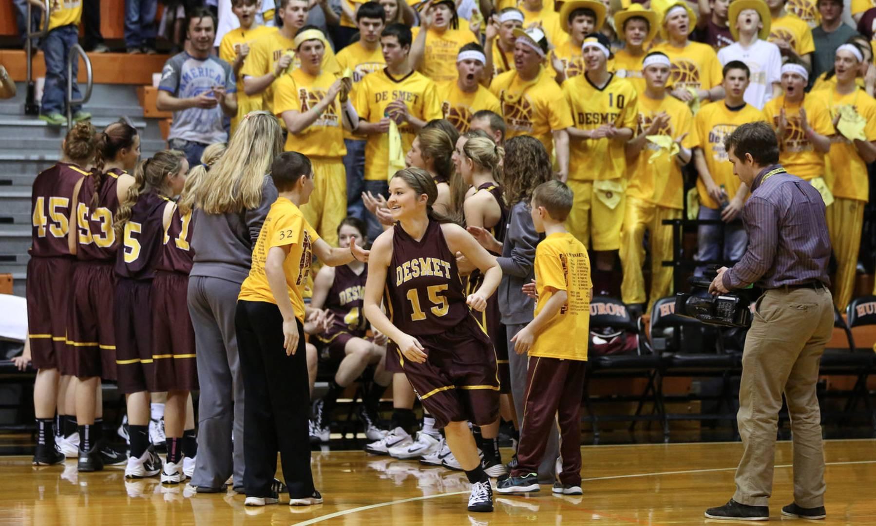 Desmet girls basketball team