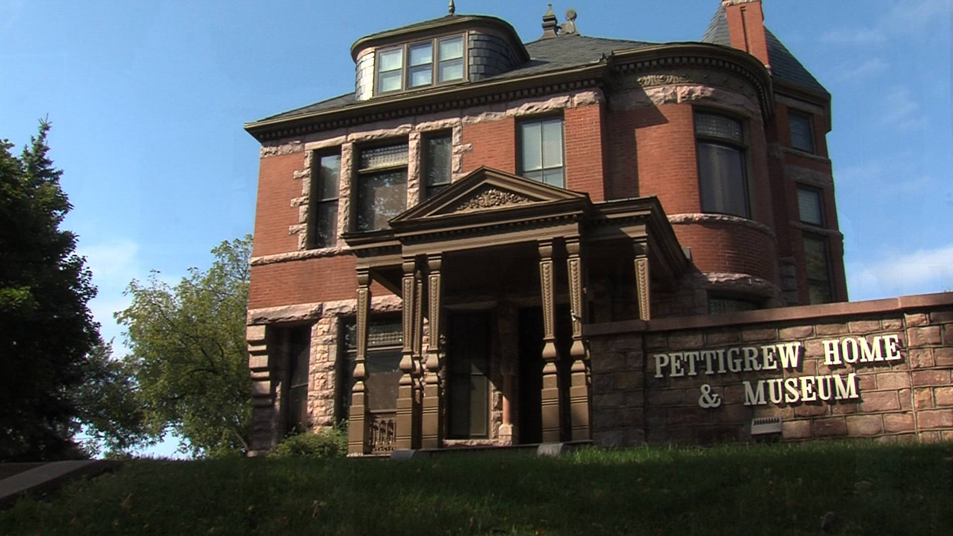 The Pettigrew Museum at 8th and Duluth in Sioux Falls