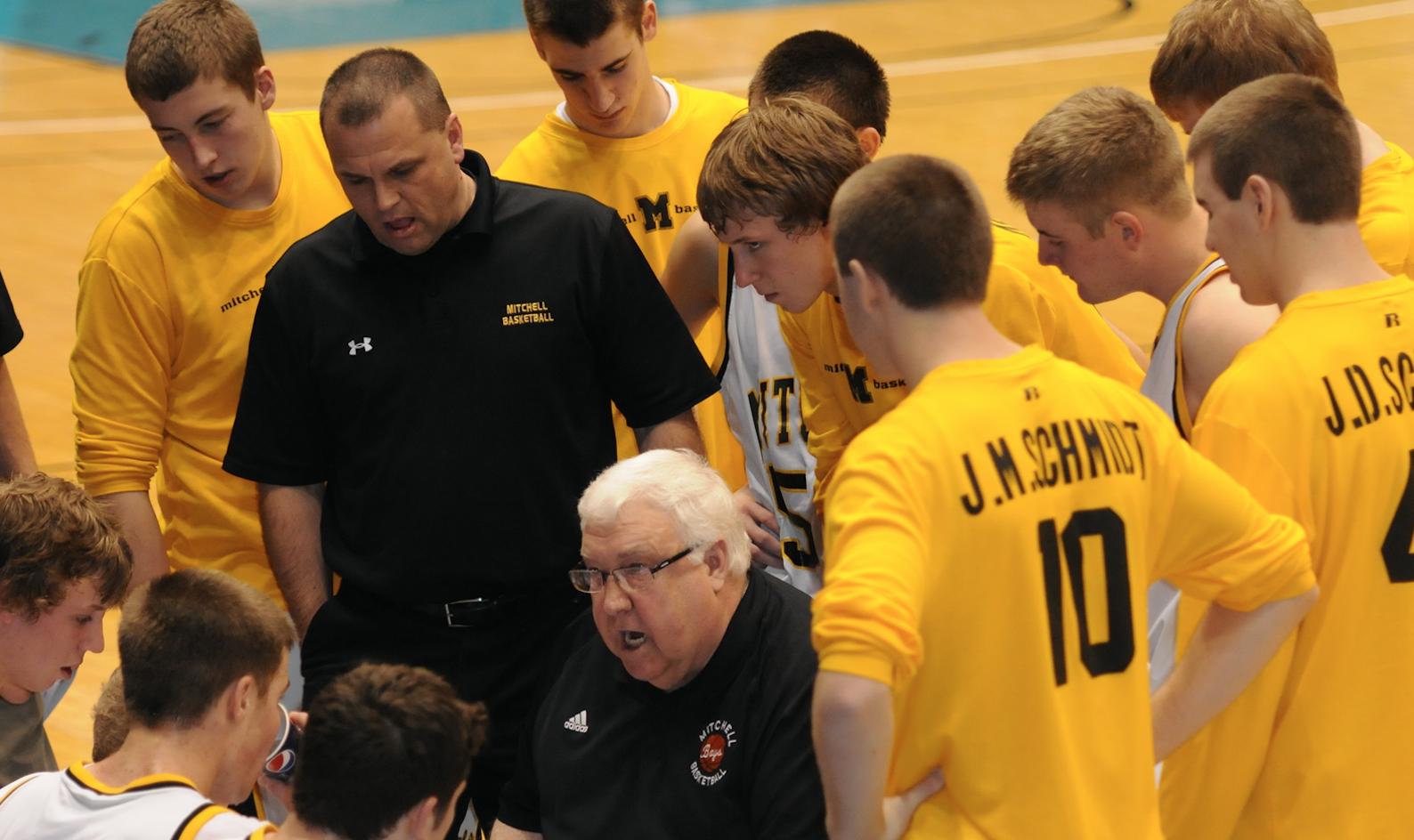 Mitchell basketball coach