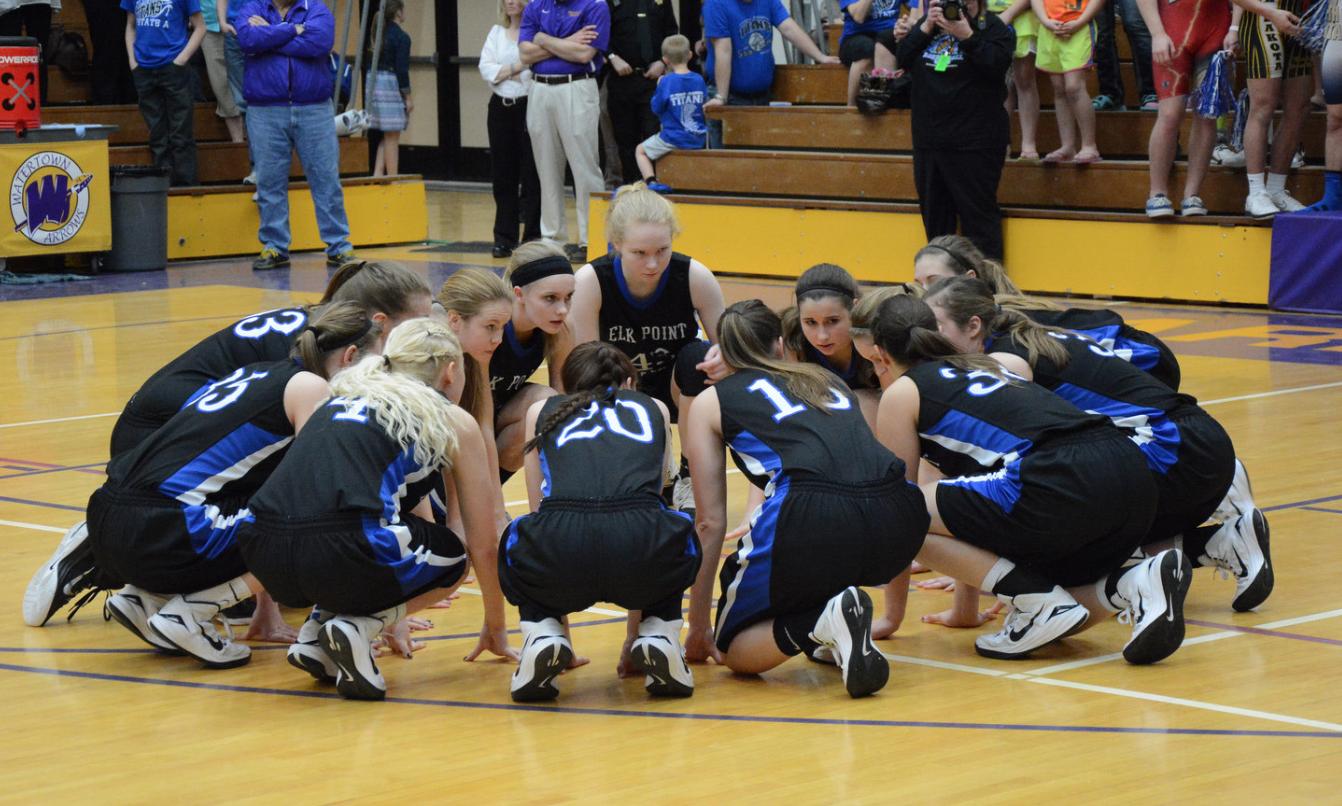 Elk Point girls basketball team