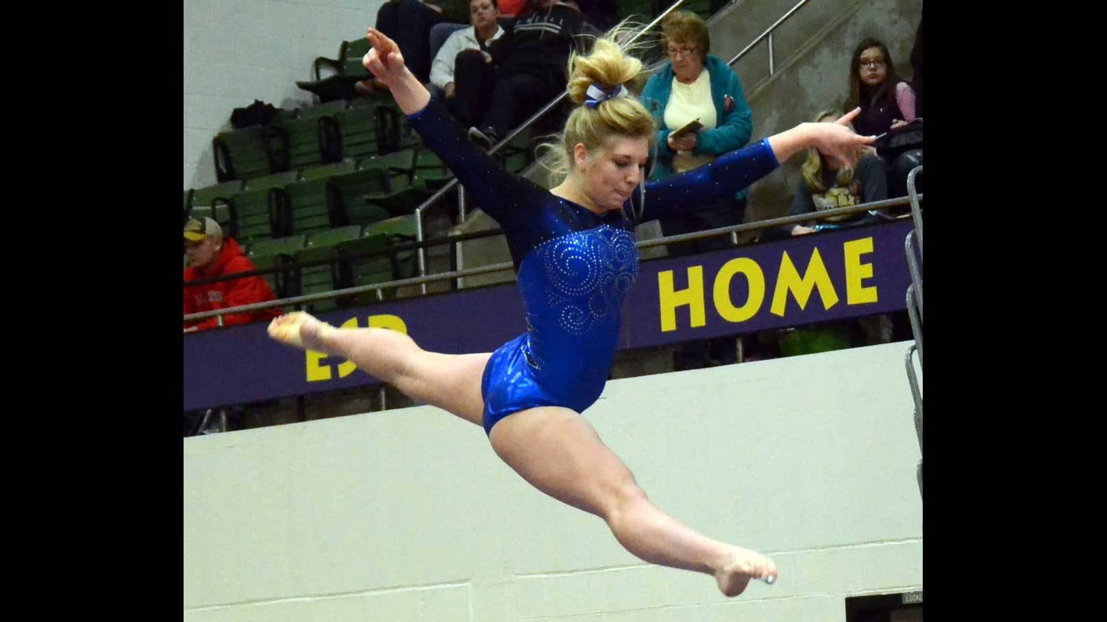 High school gymnast