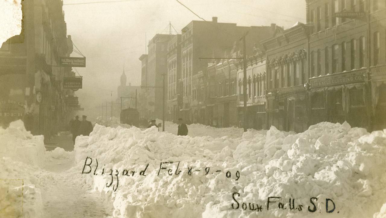 Sioux Falls blizzard 1909