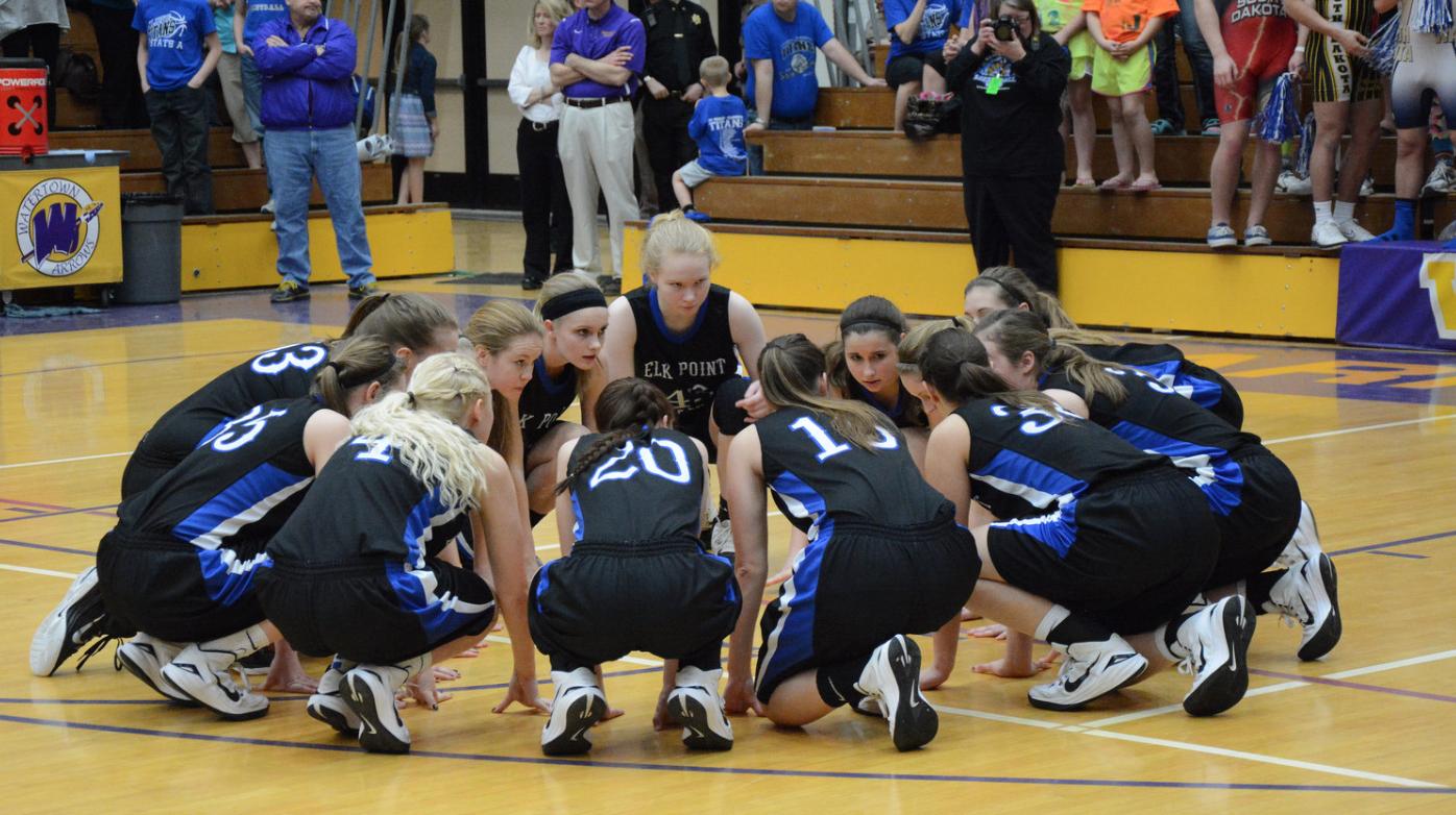 High school girls basketball team
