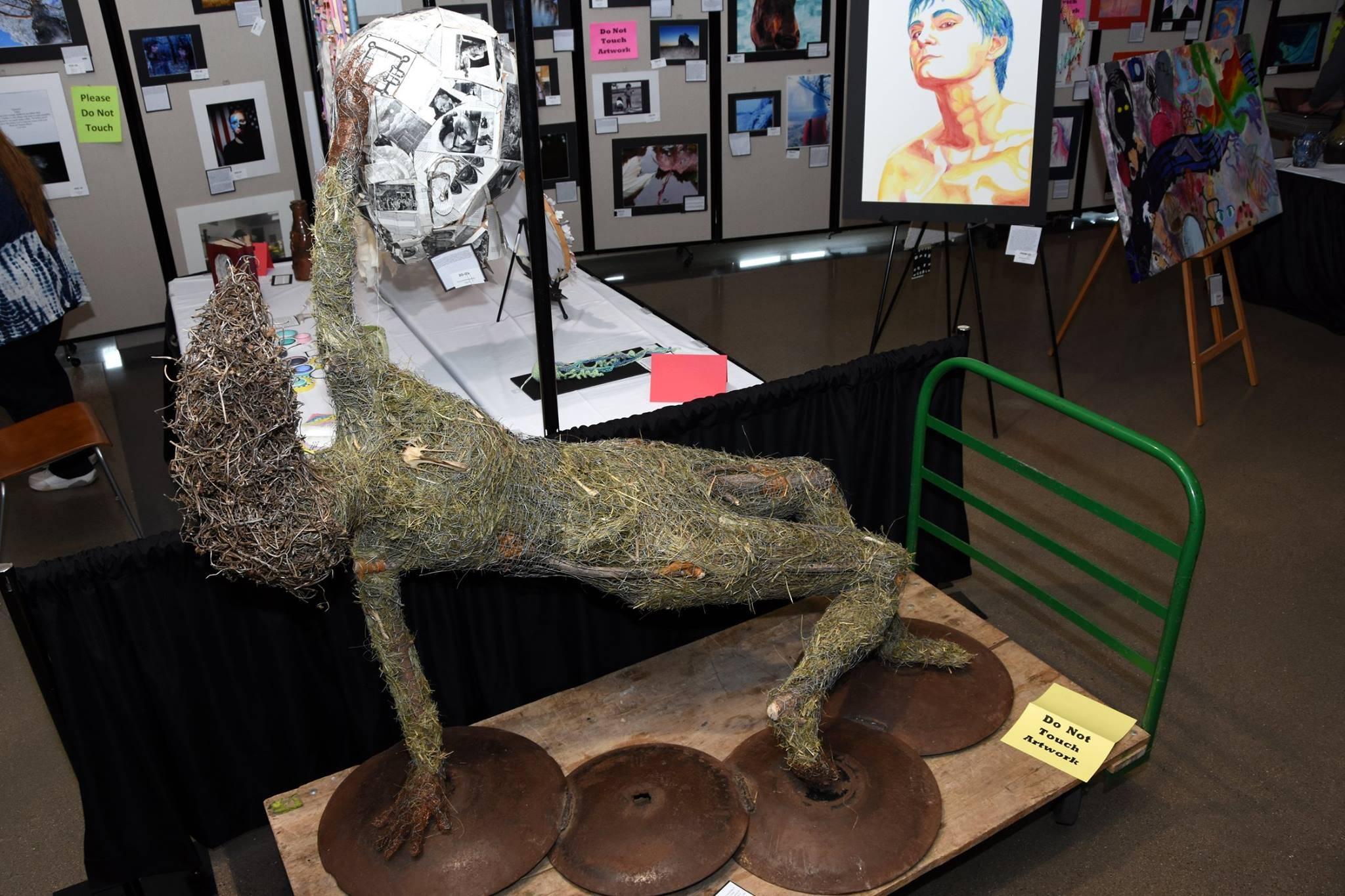 photo of a sculpture