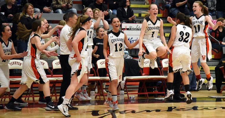 Viborg-Hurley Girls Basketball Team