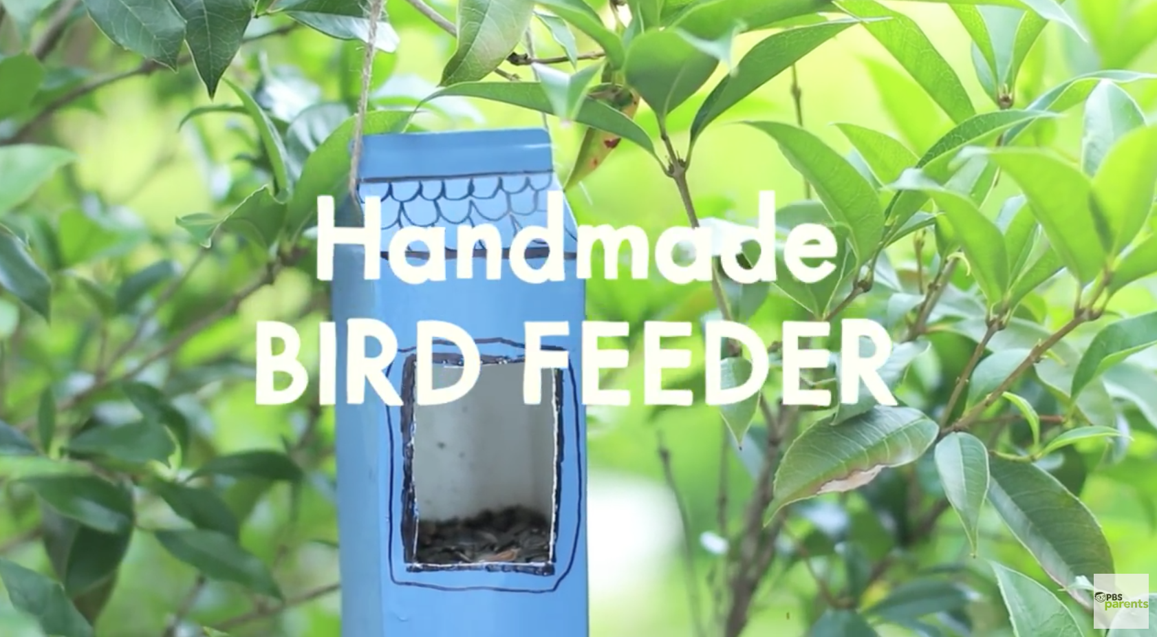 Handmade Bird Feeder