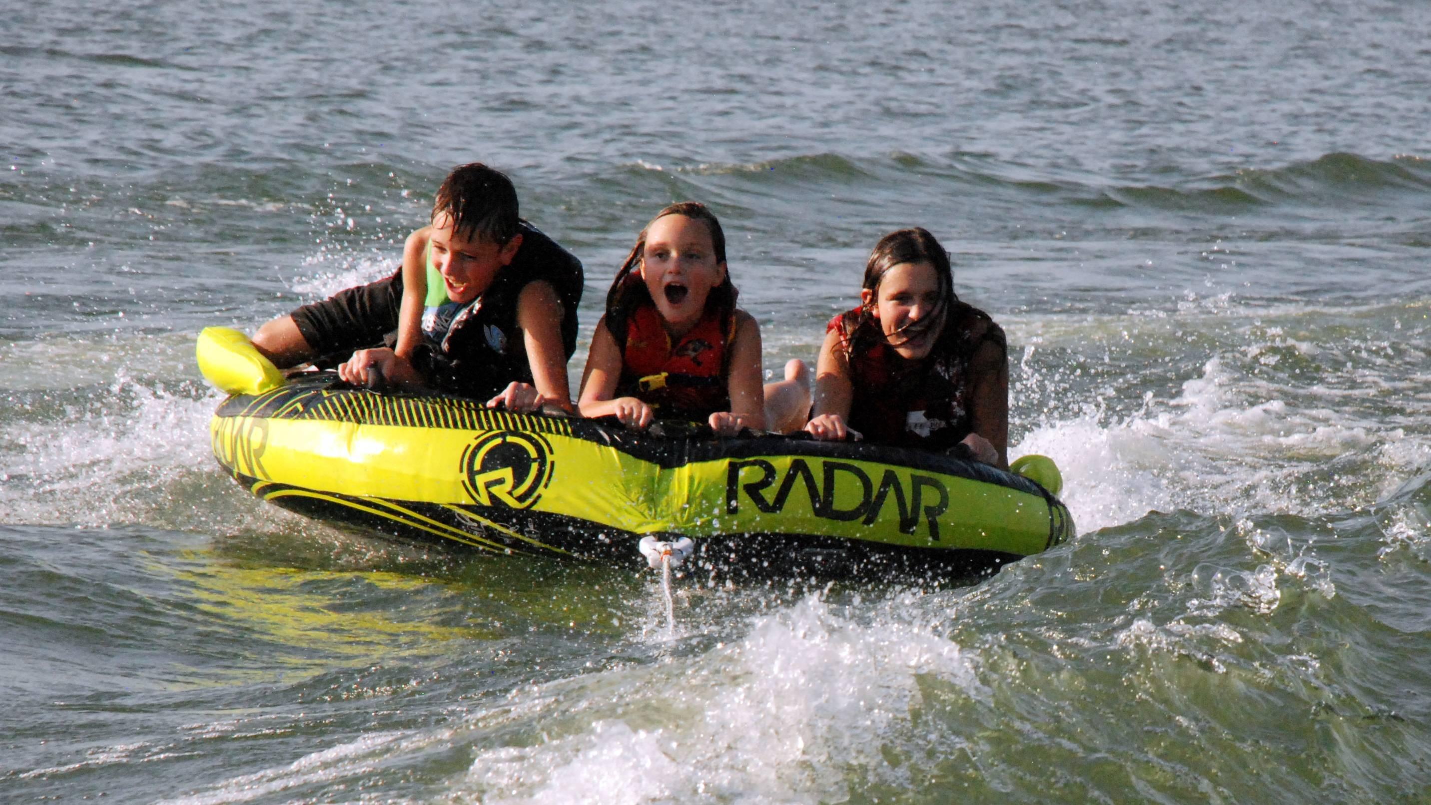 Children tubing