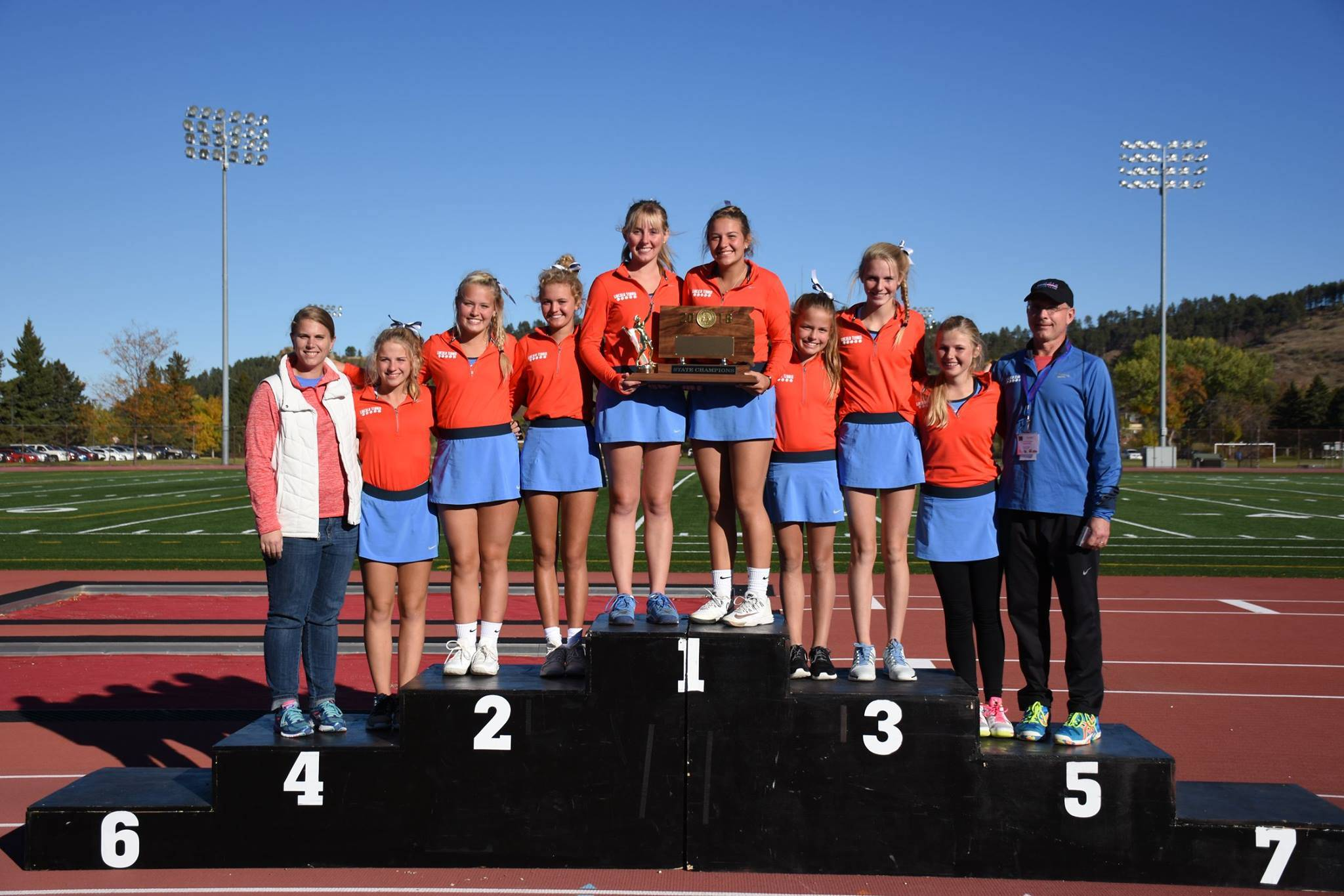 Sioux Falls Lincoln girls tennis