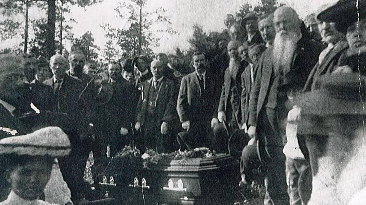 Funeral of Calamity Jane, Deadwood