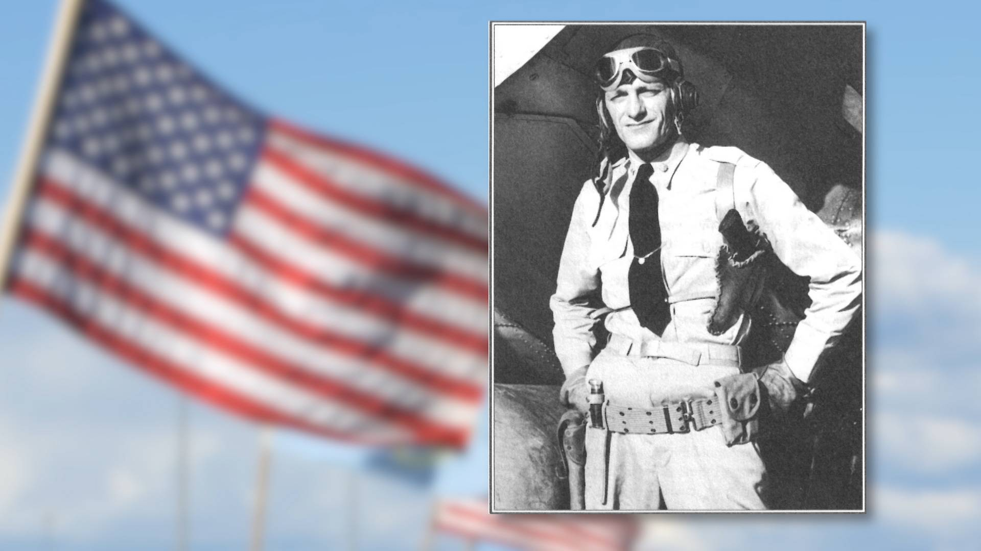 Pilot John Waldron was KIA during the Battle of Midway