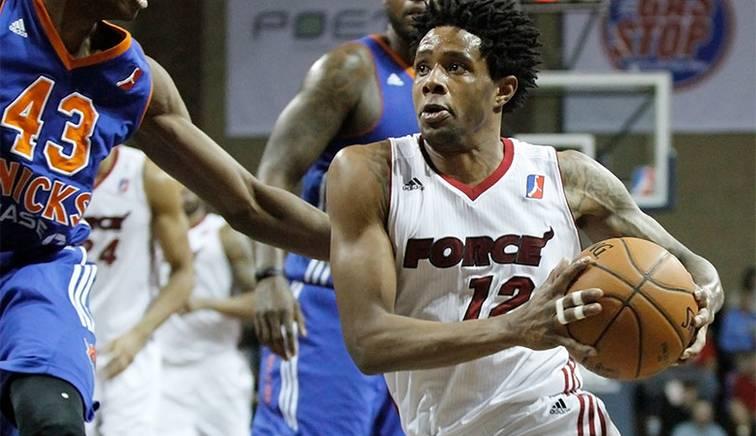 Sioux Falls Skyforce basketball player