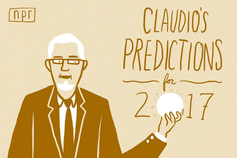 Claudio's Predictions 2017