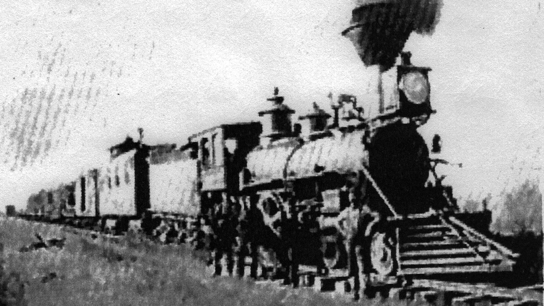 1887 train holdup