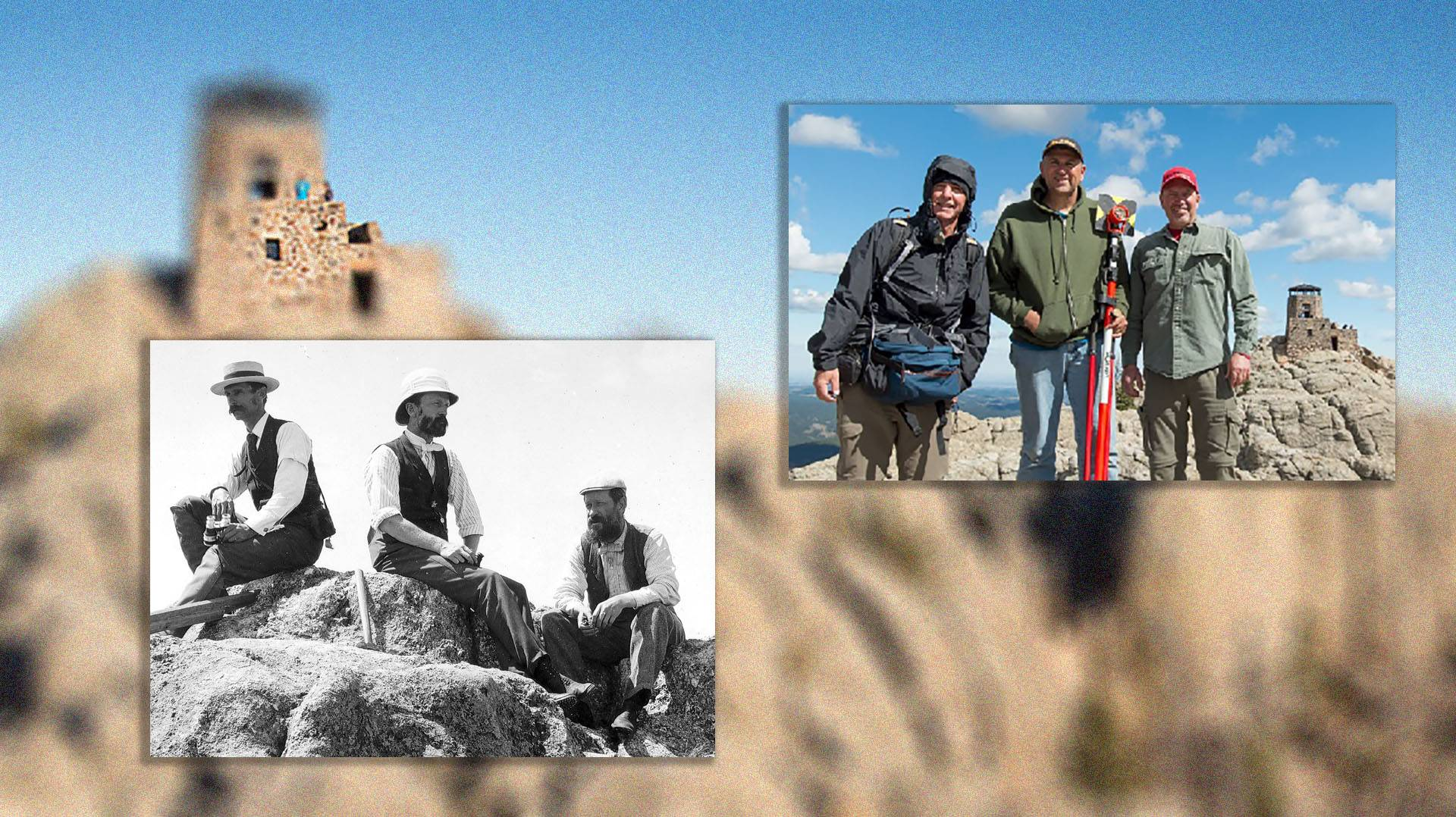 Surveyors in the Black Hills