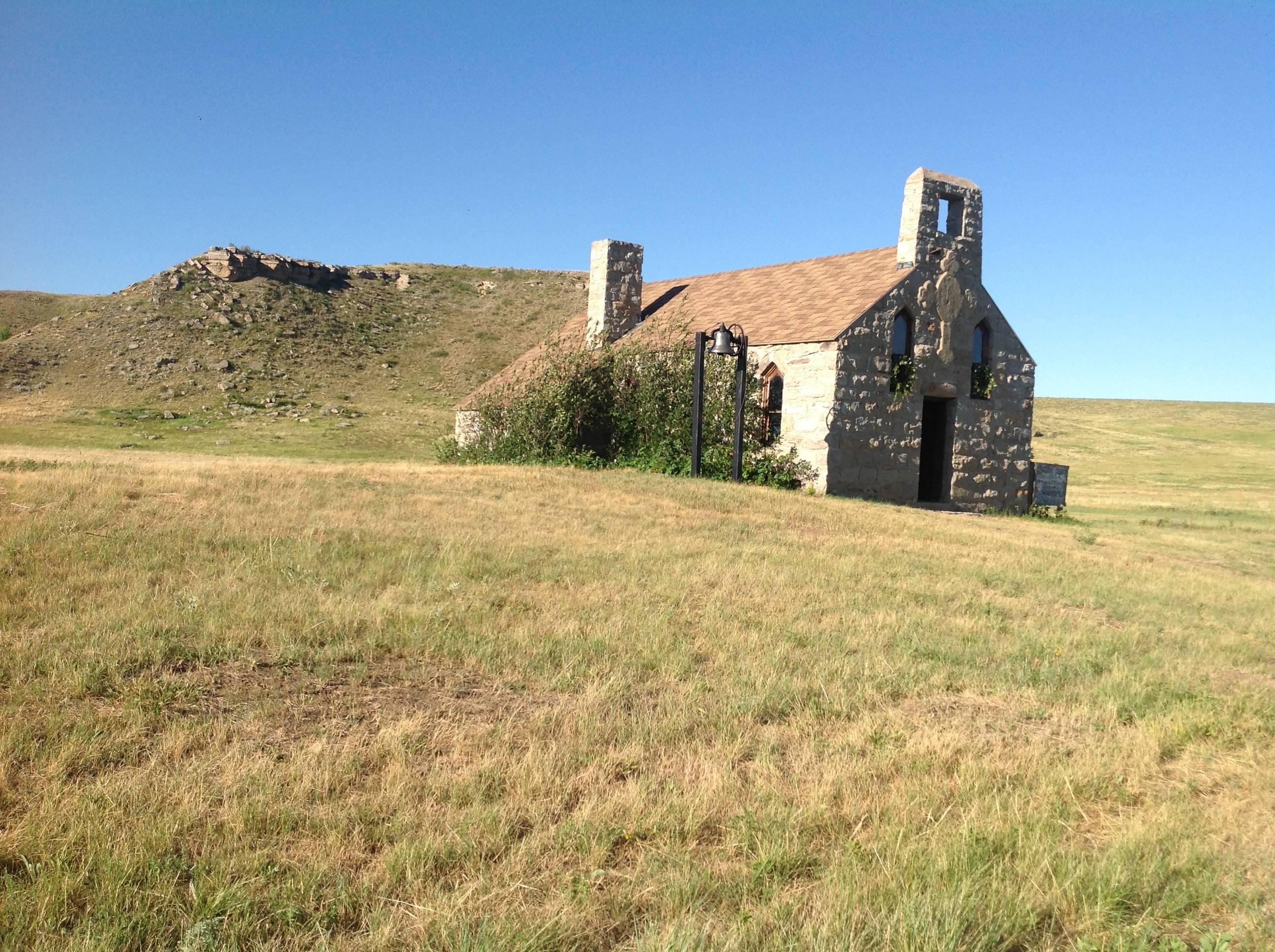 Stone Episcopal Church - Corson County, South Dakota