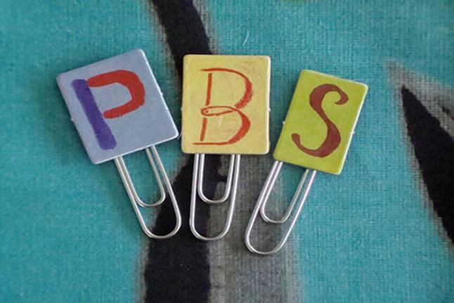 PBS bookclips