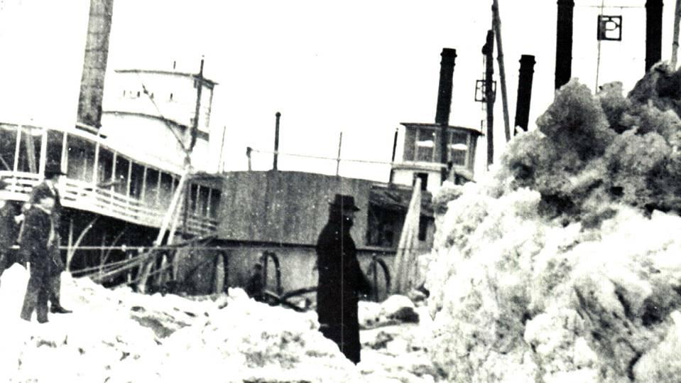 Spring Flood in Yankton and Vermillion, 1881