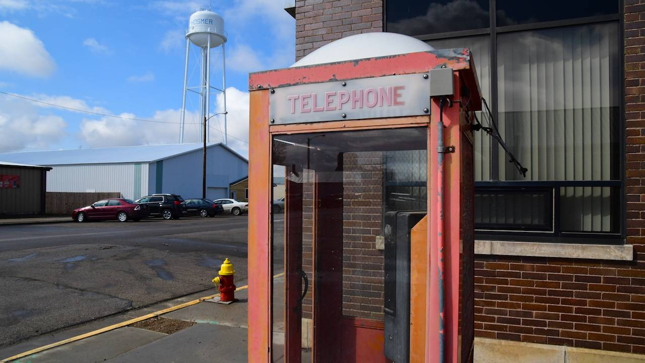Hosmer Phone Booth