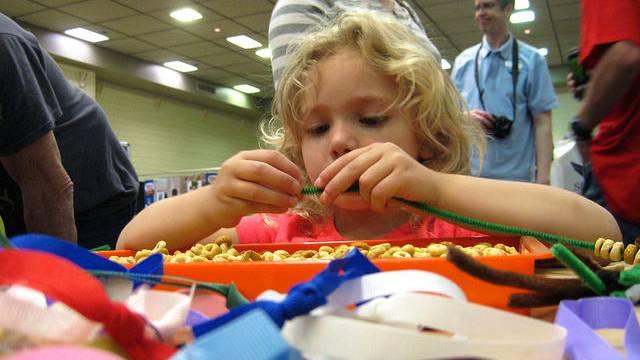 Little girl at Kids Fair