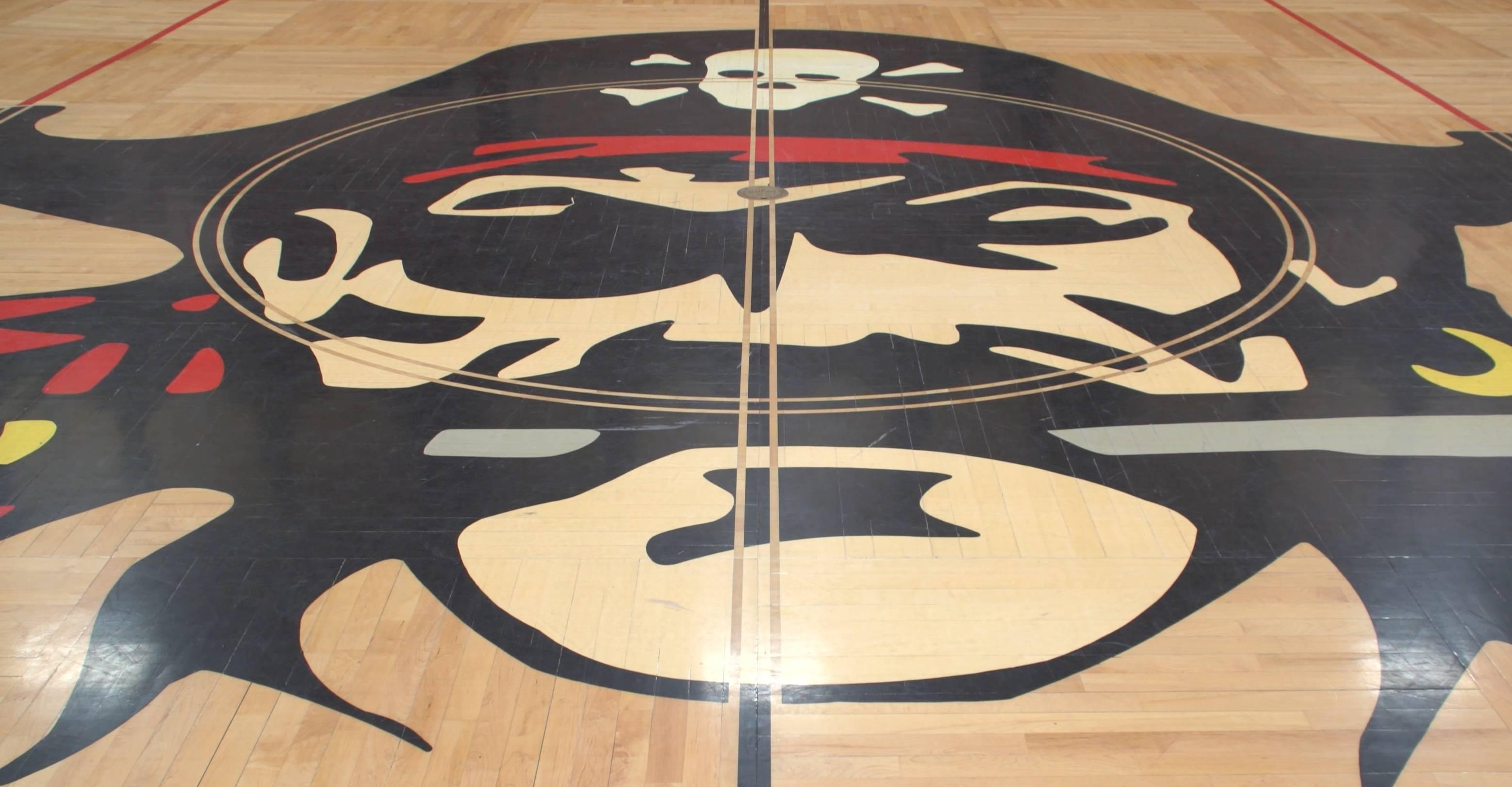 photo of Avon gym floor