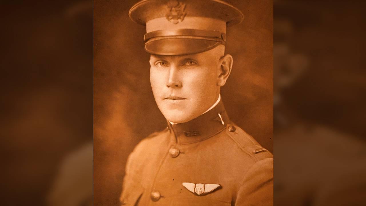 Bomber pilot Fred Christopherson